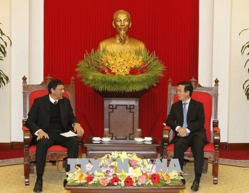 Promotion de la cooperation entre le Parti communiste du Vietnam et le Parti communiste cubain hinh anh 1