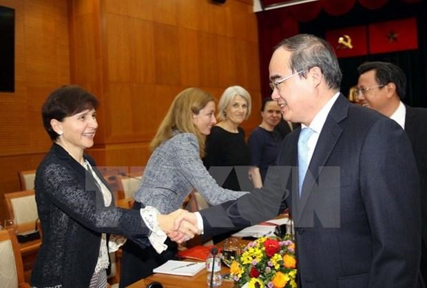 Ho Chi Minh-Ville envisage une cooperation renforcee avec l'UE hinh anh 1
