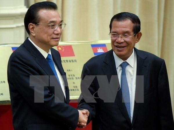 Le Cambodge et la Chine s'engagent a elargir la cooperation bilaterale hinh anh 1
