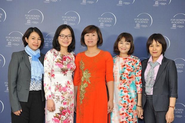 Remise du prix l'Oreal-UNESCO pour les Femmes et la Science 2017 hinh anh 1