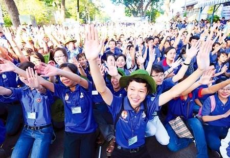 Le « Printemps du volontariat » 2018 engage plus de 30.000 jeunes hinh anh 1