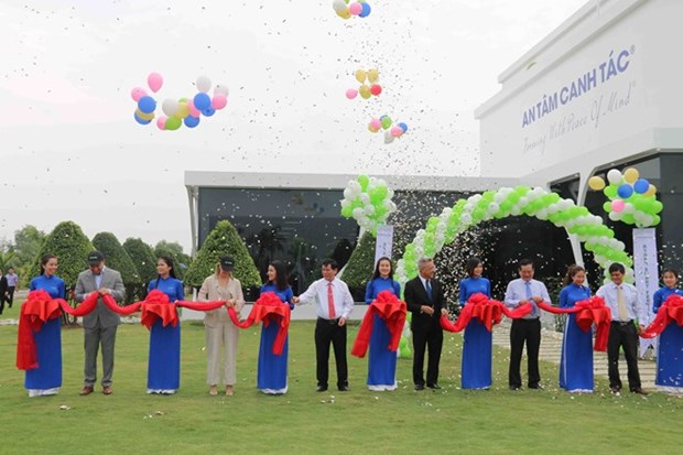 Inauguration d'une usine d'engrais intelligents a Tra Vinh hinh anh 1
