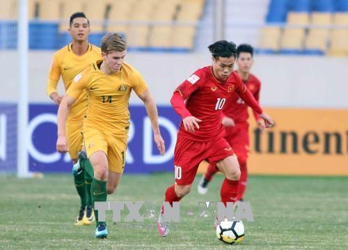 Championnat d'Asie U23 : les medias internationaux louent la victoire du Vietnam face a l'Australie hinh anh 1