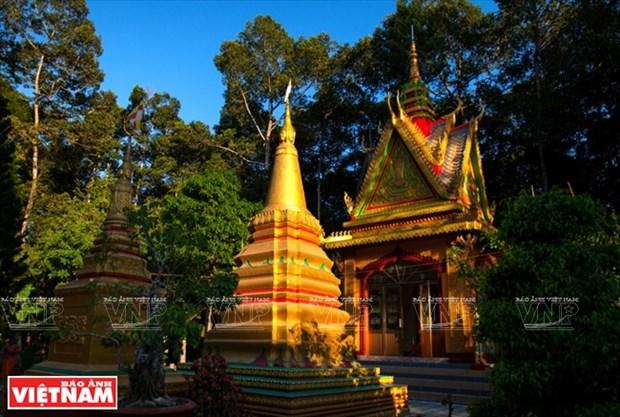 Les couleurs culturelles des Khmers du Nam Bo hinh anh 3