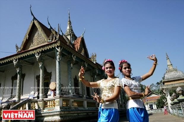 Les couleurs culturelles des Khmers du Nam Bo hinh anh 6