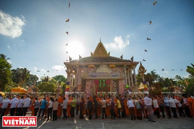 Les couleurs culturelles des Khmers du Nam Bo hinh anh 14
