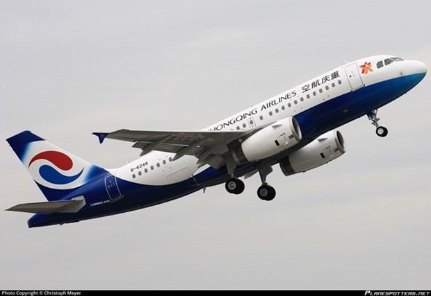 Inauguration d'une ligne aerienne directe entre Chongqing (Chine) et Hanoi hinh anh 1