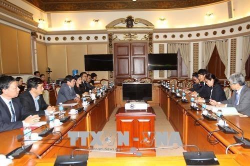 HCM-Ville et la prefecture japonaise de Kagoshima promeuvent la cooperation hinh anh 1