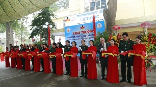 Ouverture du Centre d'etudes medicales Vietnam-Allemagne hinh anh 1