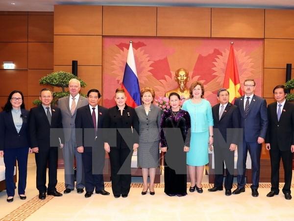 Renforcement des relations parlementaires Vietnam-Russie hinh anh 1
