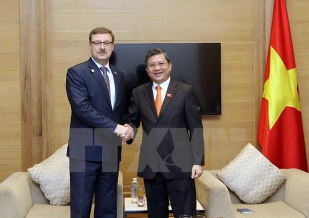APPF-26 : le Vietnam et la Russie renforcent l'echange des activites legislatives hinh anh 1