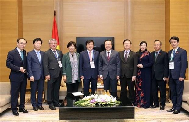 Promotion de la cooperation entre les organes legislatifs Vietnam - R. de Coree hinh anh 1
