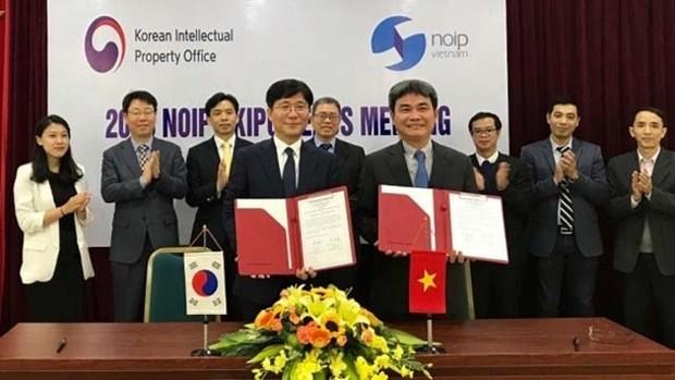 Le Vietnam et la R. de Coree cooperent dans le traitement accelere des demandes de brevets hinh anh 1