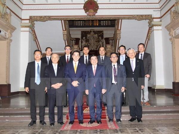 Ho Chi Minh-Ville et Ehime (Japon) resserrent leur cooperation hinh anh 1