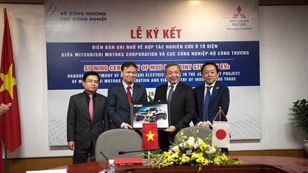 Mitsubishi Motors veut investir dans les voitures electriques au Vietnam hinh anh 1