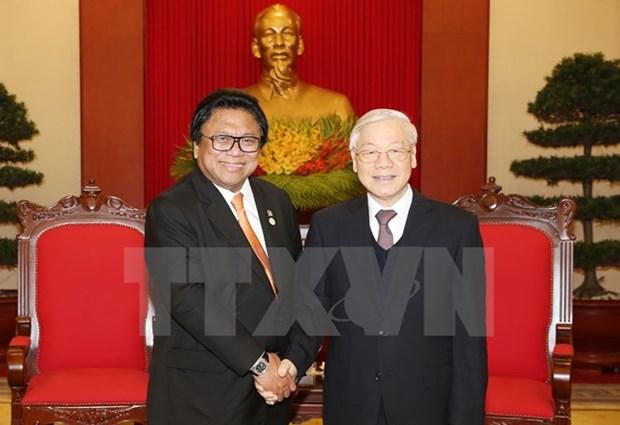 Vietnam et Indonesie doivent renforcer leur cooperation en tous domaines hinh anh 1