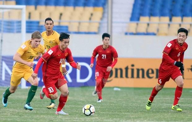 Championnat d'Asie U23 2018 : le Onze vietnamien s'est qualifie pour la demi-finale hinh anh 1
