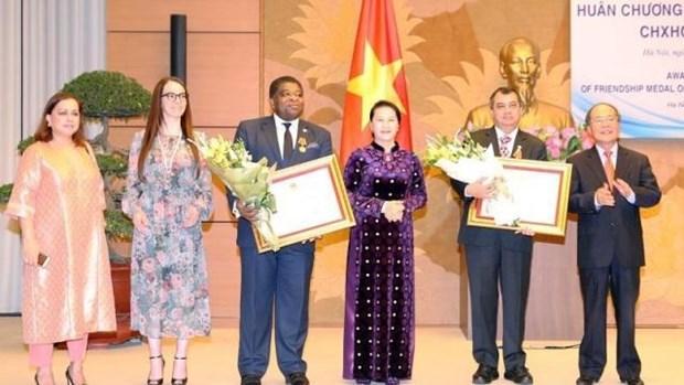 L'Ordre de l'amitie du Vietnam aux dirigeants de l'UIP hinh anh 1