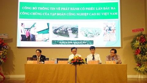 Introduction en bourse du Groupe vietnamien du caoutchouc hinh anh 1