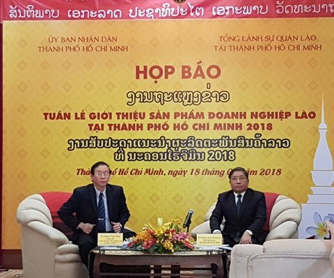 Semaine des produits lao a Ho Chi Minh-Ville hinh anh 1