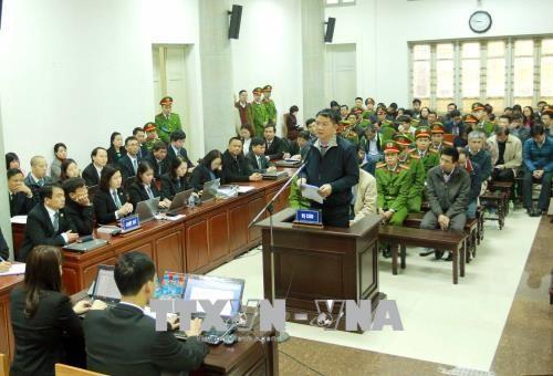 Proces de Trinh Xuan Thanh: une empreinte de la reforme judiciaire hinh anh 1