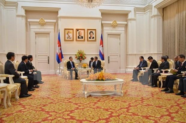 Le Premier ministre cambodgien apprecie l'assistance du Vietnam hinh anh 1