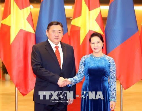 Renforcement des relations Vietnam-Mongolie hinh anh 1