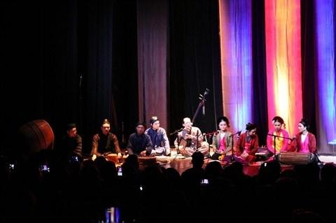 Un concert dedie aux musiques anciennes du Vietnam a Hanoi hinh anh 1