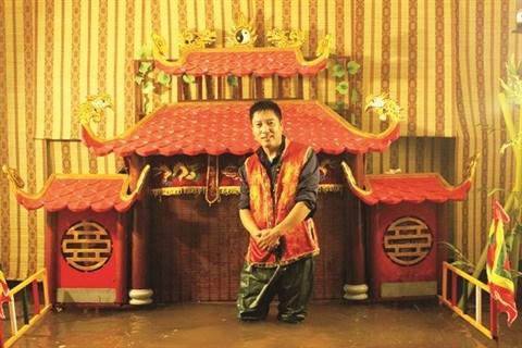 Un 2e mini-theatre de marionnettes sur l'eau a Hanoi hinh anh 1