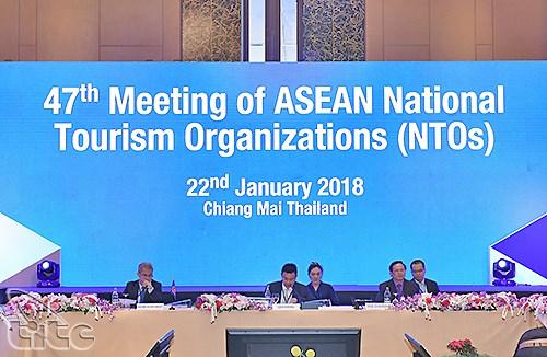 La 47e Conference des organisations nationales du tourisme de l'ASEAN en Thailande hinh anh 1