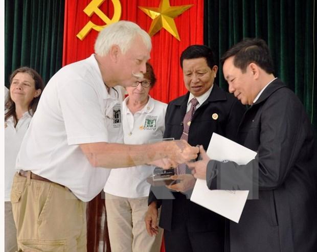 Distinction de l'Organisation des anciens combattants americains au Vietnam hinh anh 1