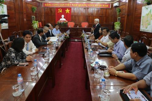 Un groupe japonais souhaite construire une centrale solaire a Binh Phuoc hinh anh 1
