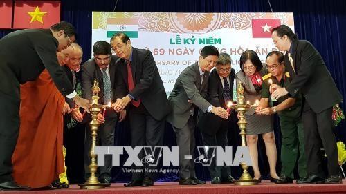 Le 69e anniversaire du Jour de la Republique de l'Inde celebre a Ho Chi Minh-Ville hinh anh 1