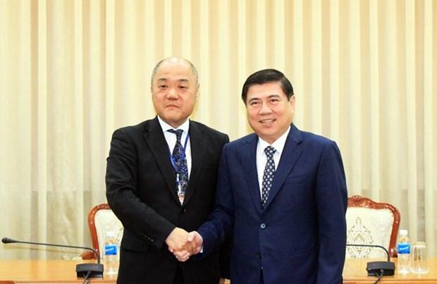 Ho Chi Minh-Ville s'engage a favoriser les investisseurs japonais hinh anh 1