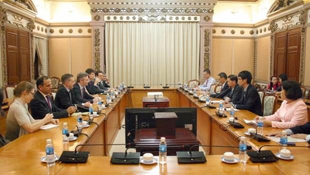 Ho Chi Minh-Ville et la France renforcent la cooperation dans plusieurs domaines hinh anh 1
