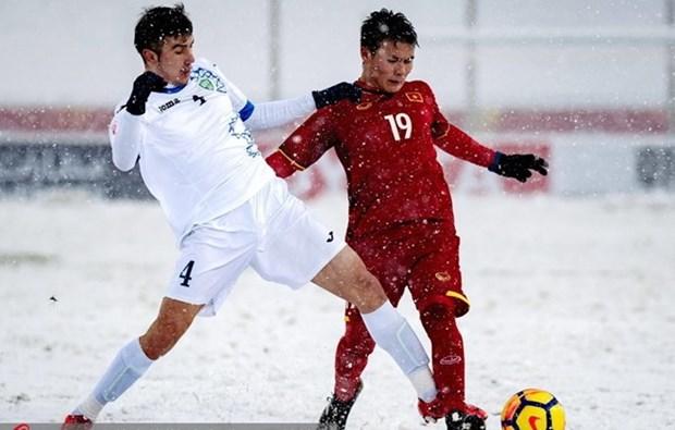 Les medias internationaux admirent le courage de la selection vietnamienne U23 hinh anh 1