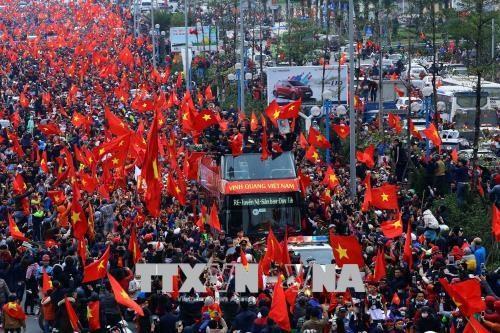 Championnat d'Asie U23: la presse japonaise loue la solidarite des Vietnamiens hinh anh 1