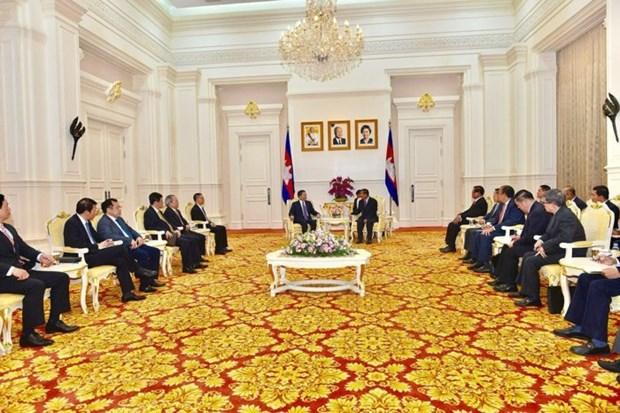 Le Vietnam et le Cambodge renforcent la cooperation en matiere de securite hinh anh 1