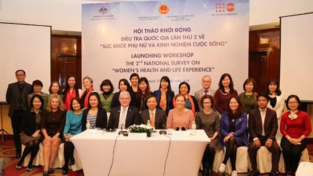 Le Vietnam lance l'enquete nationale sur « La sante et les experiences de vie des femmes » hinh anh 1