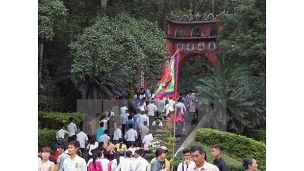 Quatre provinces participent a la fete des Rois Hung 2018 hinh anh 1
