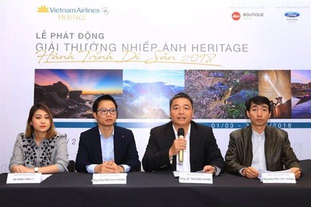 Lancement d'un concours de photos sur des patrimoines vietnamiens hinh anh 1