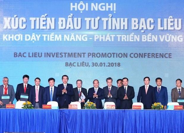 Le PM exhorte Bac Lieu a devenir un centre de l'industrie de crevetticulture hinh anh 1