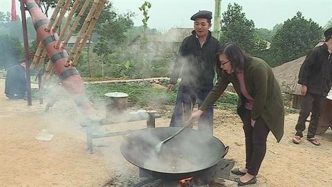 Les saveurs de la gastronomie des H'Mong hinh anh 1