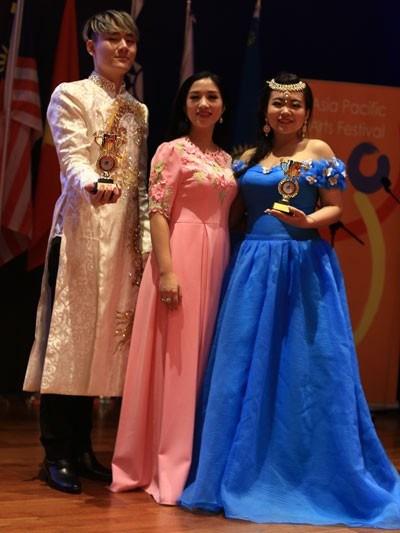 Le Vietnam remporte les prix d'or au Festival artistique d'Asie-Pacifique hinh anh 1
