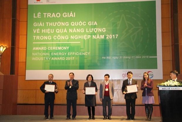 Remise du prix national 2017 de l'efficience energetique hinh anh 1