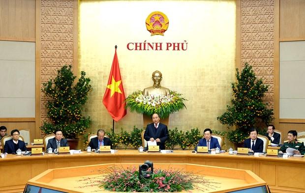 Reunion periodique de janvier du gouvernement hinh anh 1