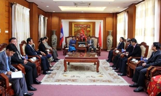 Le Laos felicite le Vietnam pour les 88 ans de la fondation du PCV hinh anh 1