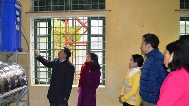 Aide allemande pour la province de Vinh Phuc hinh anh 1