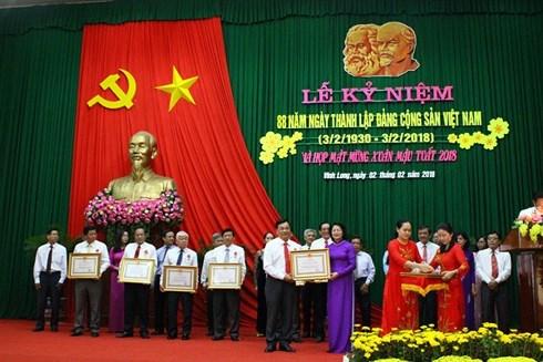 Celebrations du 88e anniversaire du Parti communiste du Vietnam hinh anh 1