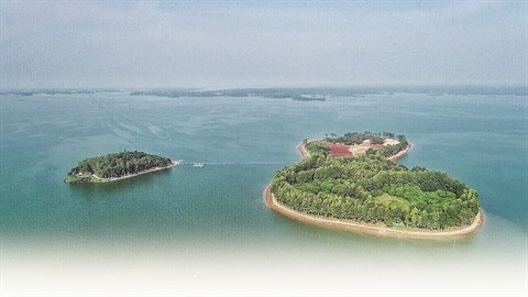 Ilot O, joyau du lac Tri An a Dong Nai hinh anh 1